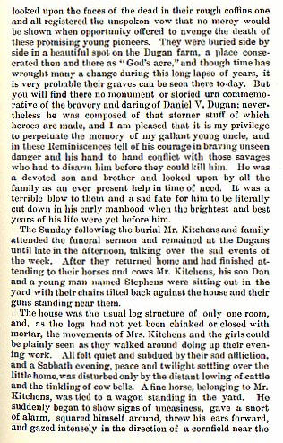 Daniel V. Dugan and William Kitchens Murdered