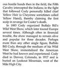Buffalo Bill Story