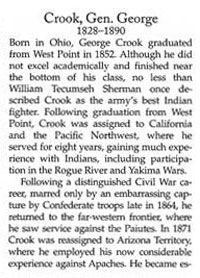 Gen. George Crook Story