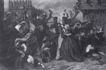 Picture of the Fort Mims Massacre