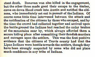 During the Fall of 1843 story from the book Indian Depredations in Texas by J. W. Wilbarger
