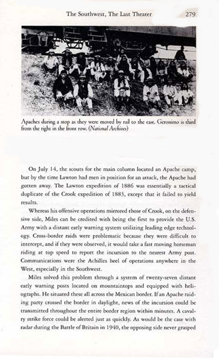 Story of Geronimo's Second Surrender