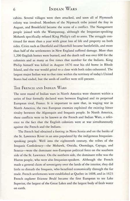 King Philip's War Story