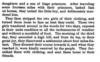 Murders in Jack County story from the book Indian Depredations in Texas by J. W. Wilbarger