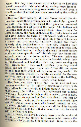 Johnson's Station story from the book Indian Depredations in Texas by J. W. Wilbarger