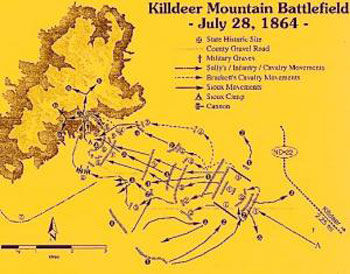 Killdeer Mountain Battlefield Picture