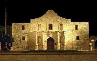 Picture of the Alamo in San Antonio, Texas