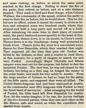 All's Well That Ends Well story from the book Indian Depredations in Texas by J. W. Wilbarger