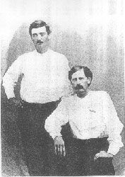 Bat Masterson and Wyatt Earp Picture