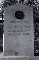 Picture of Indian Battlefield Centennial Marker