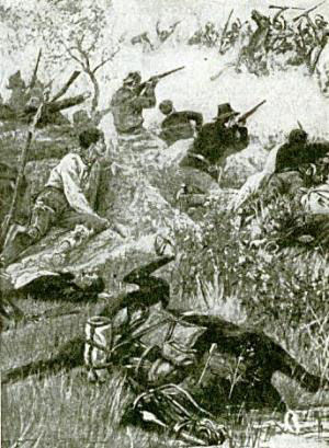 Picture of Battle at Beecher's Island