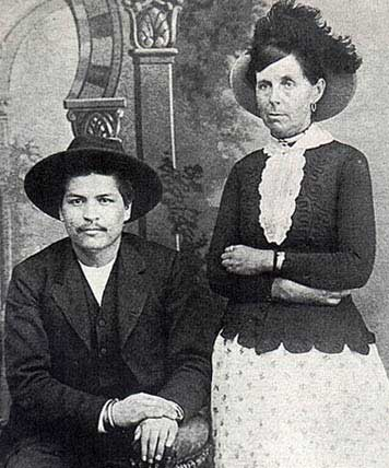 Picture of Belle Starr and Blue Duck
