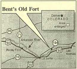 Map of Directions to Bent's Fort