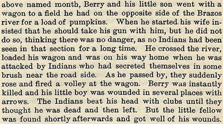 Berry story by Wilbarger