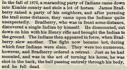 Bradberry story by Wilbarger