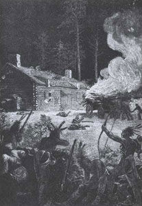 Picture of the Attack on Brookfield