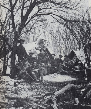 Picture of a Buffalo Camp