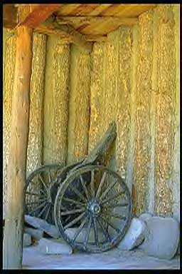 Picture of Cannon at Fort Burgwin