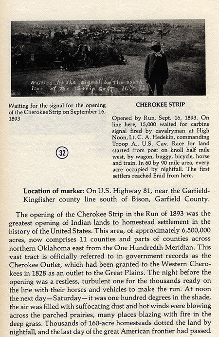 Cherokee Strip Picture