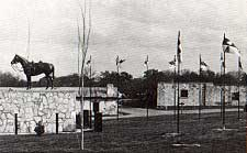 Picture taken at Fort Clark by Charles M. Robinson, III from the book, Frontier Forts of Texas