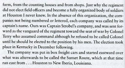 Civil War Houston