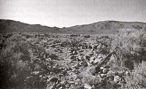 Picture of the Dry Creek Station on the Pony Express Route