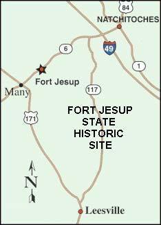 Picture of Fort Jesup State Historic Site