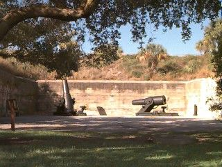 Picture of Mortars at Fort De Soto