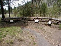 Picture of Soldier's Corral at Fort Fizzle