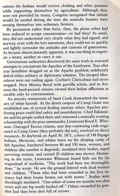 Fort Grant Story
