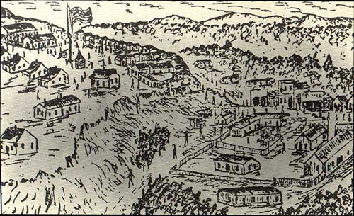 Fort Griffin Drawing