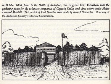 Sketch of Fort Houston