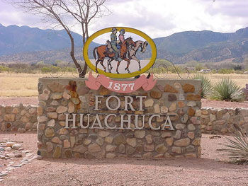 Picture at Fort Huachuca
