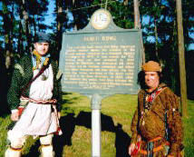 Picture of Fort King Historical Marker