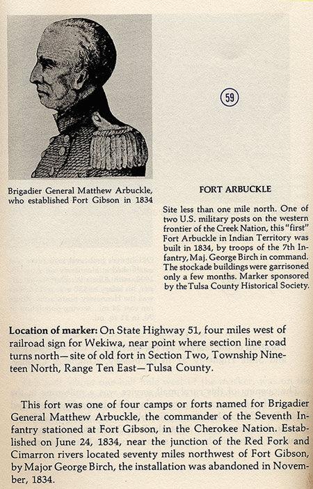 Brigadier General Matthew Arbuckle Picture