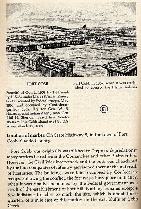 Fort Cobb Picture
