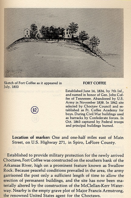 Fort Coffee Sketch