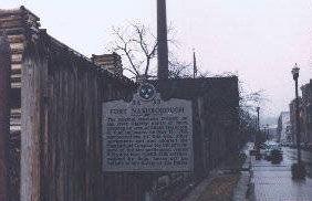 Picture of Fort Nashborough Historical Marker