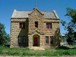 Picture of Fort Wallace Railroad Section House
