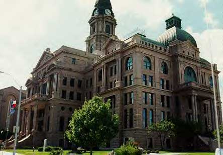 Picture of Fort Worth Court House