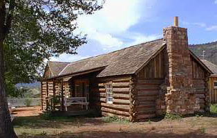 Picture of General Crook's Log Cabin