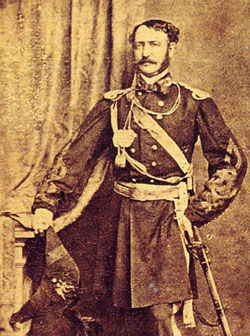 Picture of Confederate Gen. John Bankhead Magruder