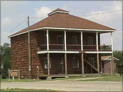 Picture of Fort Harker Guard House