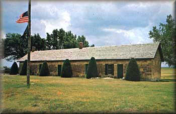 Picture of the Fort Hays Guard House