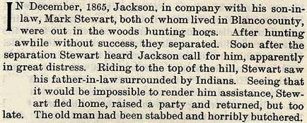 Jackson story by Wilbarger