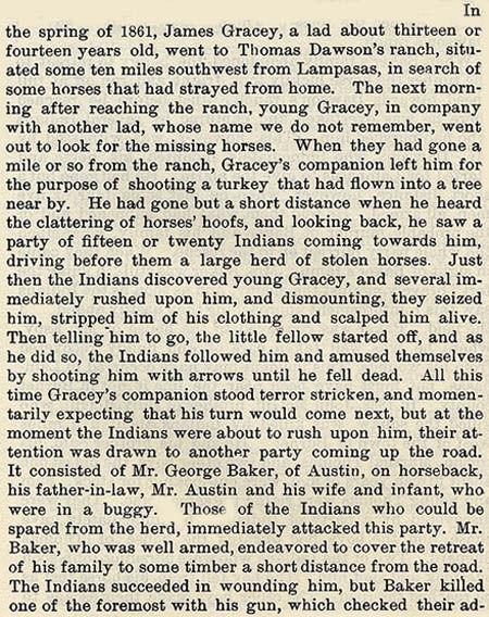 Lampasas Raid story by WIlbarger