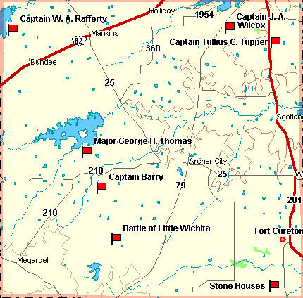 Archer County Map