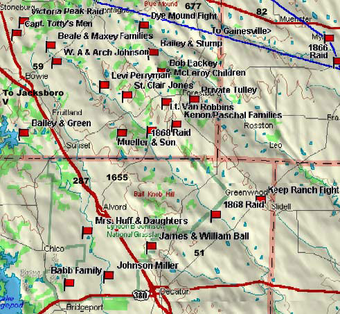 Gainesville to Decatur Map