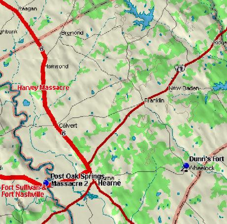 Fort Nashville Blood Trail Map