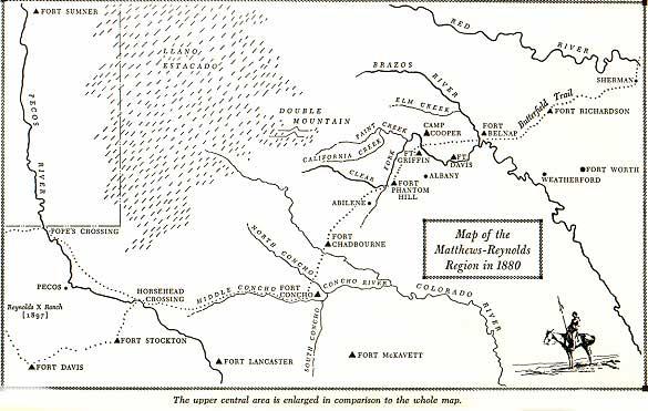 Matthews-Reynolds Region Map